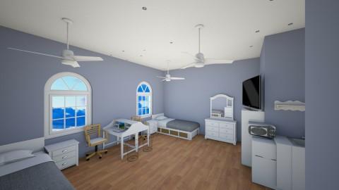 dorm room - by Katrina Westbrook