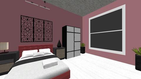 saras room - Feminine - Bedroom - by Dzhaner