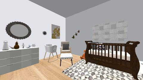 All Right Nursery  - Glamour - Kids room - by SF3423