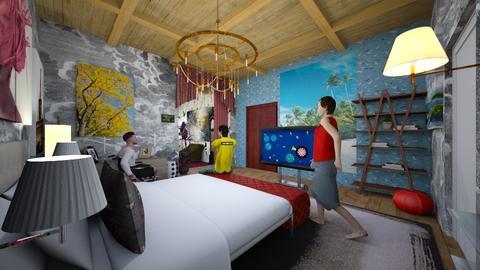 misagebi - Bedroom - by Lilia Cherenkova