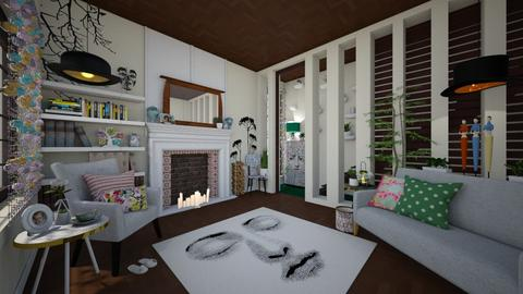 playful living - Modern - Living room - by donella