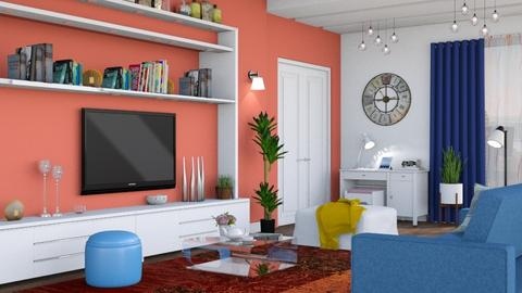 M_Colored room - Living room - by milyca8