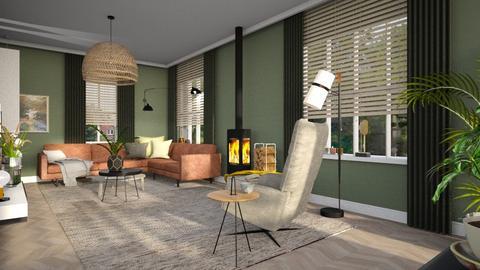 project2 - Living room - by Gwenda van Maaren