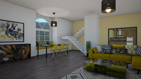 yellow - Living room - by tj94