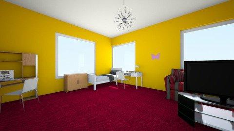 my room - Bedroom - by ola_fasola
