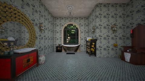 opulent bathing - Eclectic - Bathroom - by kitty
