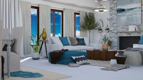 Greece - Global - Living room - by millerfam