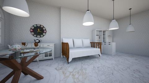 high gloss - Living room - by natasa mihajlovic