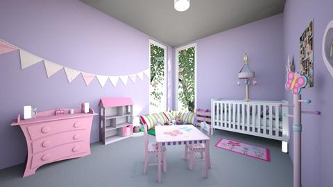 Lily  - Kids room - by Laura Drouhard