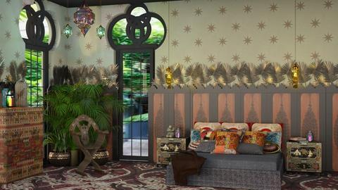 Bedroom bohemia - Global - Bedroom - by kitty