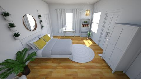New Bedroom Floor Plan  - Minimal - Bedroom - by Jennymehl3