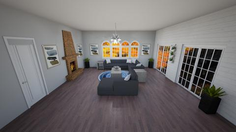 Fall Farmhouse - Living room - by Peyton Popson