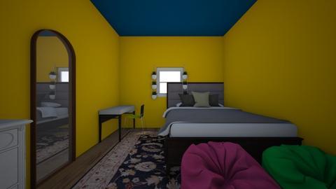 bedroom random - Bedroom - by manushri