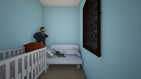 Sample bedroom - Minimal - Bedroom - by murtasar