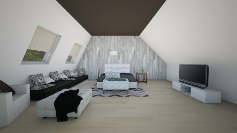 Attic bedroom - Minimal - by bgref