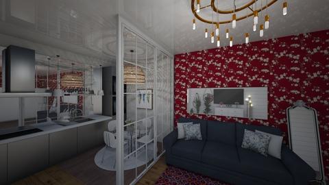 my king - Rustic - Living room - by lyub