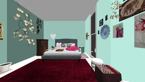 multicultural - Rustic - Bedroom - by jazzmineherzig