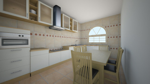 Bucatarie 9 - Glamour - Kitchen - by Ionut Corbu
