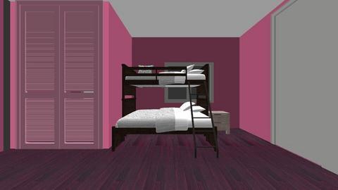 tristen room - Bedroom - by stephet20