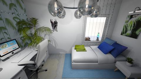 Lamb_s Room 4 - Minimal - Bedroom - by yaizalloriginal