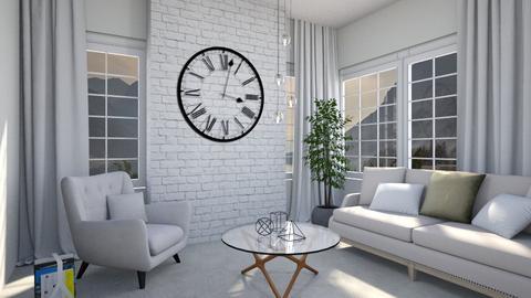 clock room - Living room - by Lilaah