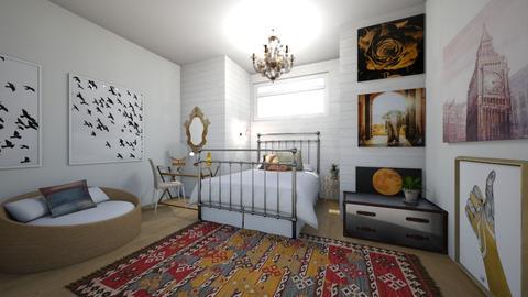 goldy - Bedroom - by dena15
