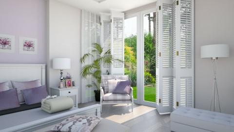 White Lilac 0 - Minimal - Bedroom - by Ejad Shukri