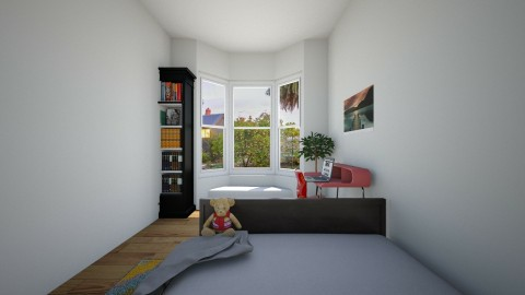 my new room 4 - Bedroom - by Cecily Reid