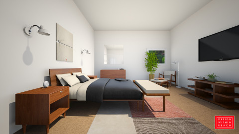American Modern&Jens - Modern - Bedroom - by jmhebert89