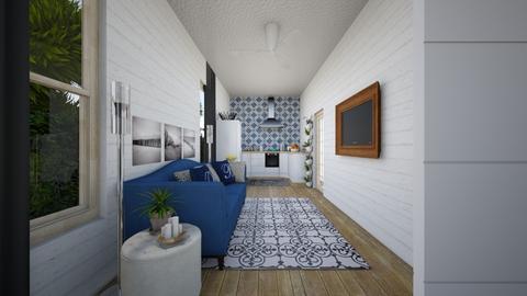 tiny house - Living room - by pamela Cowan