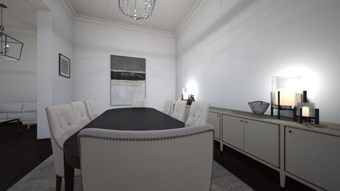 posh - Dining room - by Sadiesct