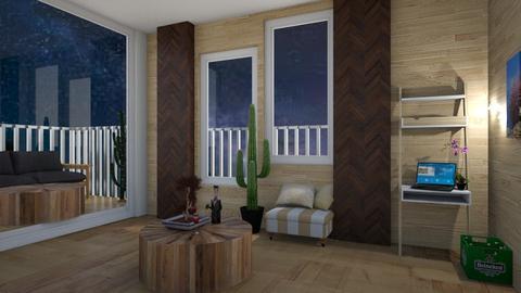 Desert night  - Living room - by Horsegirl1822