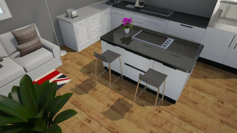 Dining kitchen room - by Colabella07