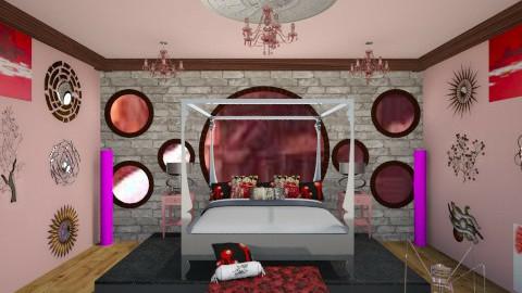 Dutchess Ruby Steampunk - Retro - Bedroom - by AshiraLevana