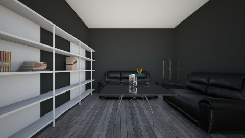 Inspired with Gray - Living room - by Komila J