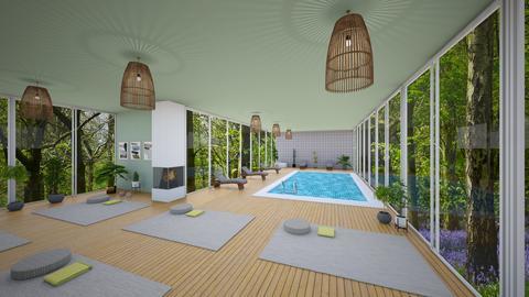 yoga retreat - Minimal - by SueandEs
