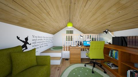Attic Room 2 - Bedroom - by SammyJPili