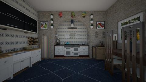 electric kitchen  - Kitchen - by Kylie Awa