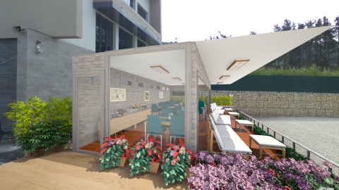 Horseclub VIP Lounge - Country - Garden - by Joao M Palla