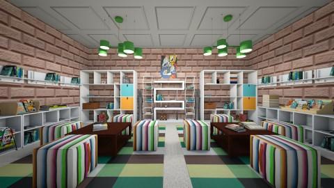 Bookshop - by SilviettaG