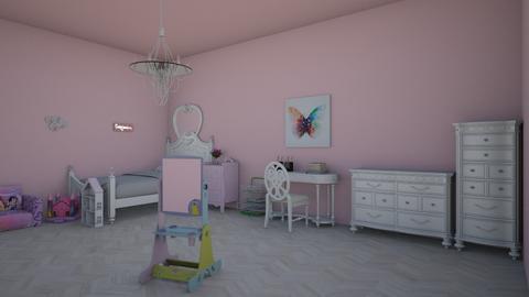 Princess Bedroom - Kids room - by rileyemily