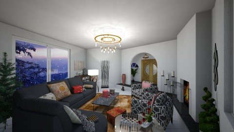 living chic - Eclectic - Living room - by MilenaTheDesigner