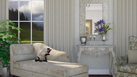 Champagne - Living room - by GraceKathryn