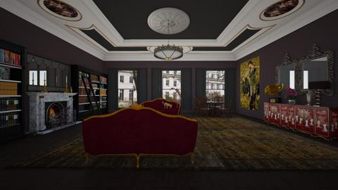 Bayswater flat2 - Classic - Living room - by kitty