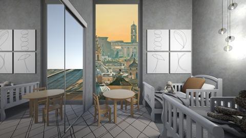 Casa192kidsBedroom - Modern - Kids room - by nickynunes