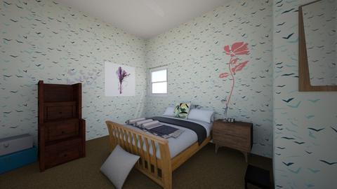 Bedroom - Modern - Bedroom - by prettyboye2