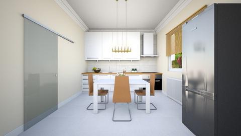 bucatarie - Modern - Kitchen - by Popa Bianca Rozalia