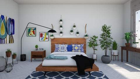 urban jungle bedoom - Bedroom - by Noa Sardoz