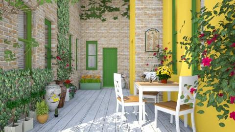 greek green - Garden - by Mazsola