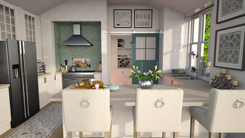 Island - Kitchen - by rachaelp636